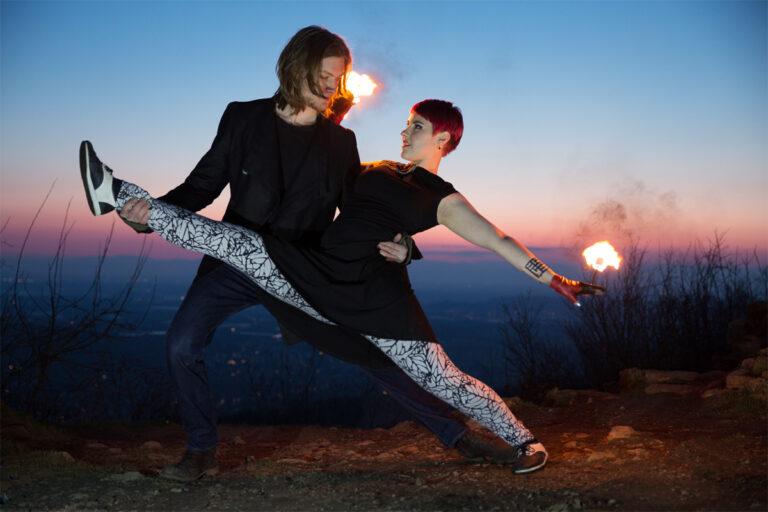 Feuershow Duo Hochzeitstanz in Freiburg, Esslingen und Waiblingen für Ihre Hochzeit buchen