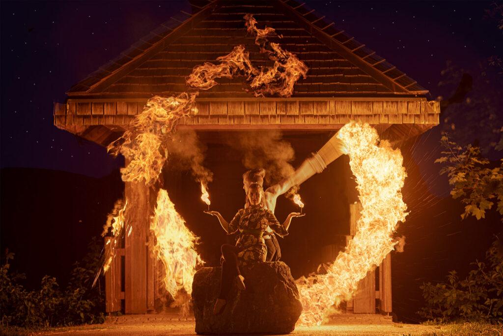 Beste Unterhaltun für Ihre Hochzeit mit Duo Feuershow in Marbach, Heilbronn, karlsruhe, Freiburg, Esslingen